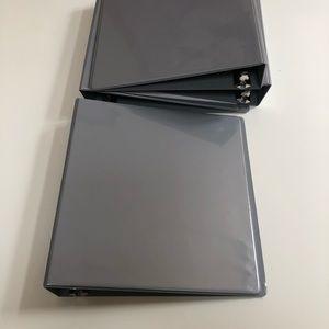 SET of 4 binders - 2 inch